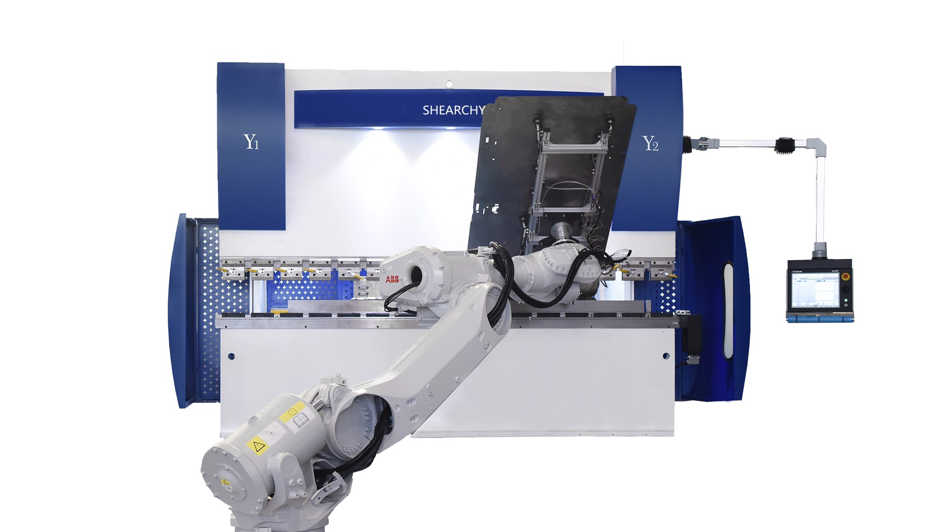 机器人折弯机自动化-1
