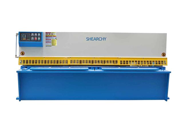 QC12K-系列液压摆式简易数控剪板机